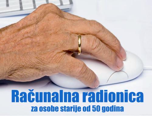 Računalne radionice za osobe starije od 50 godina