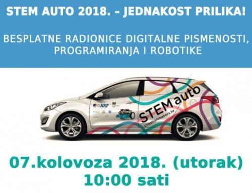 STEM auto 2018. – jednakost prilika!
