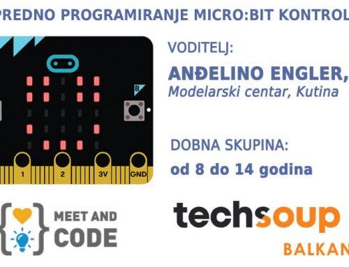 Radionica naprednog programiranja Micro:bit kontrolera