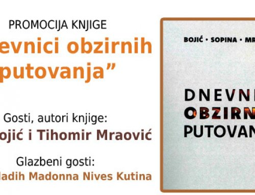 """Promocija knjige """"Dnevnici obzirnih putovanja"""""""