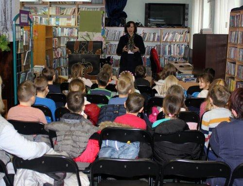 Predškolci u knjižnici