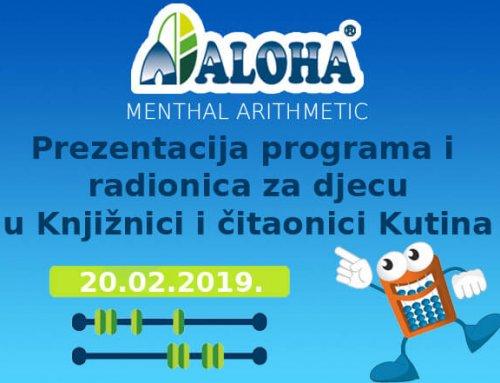 Prezentacija programa i radionica Aloha Menthal Arithmetic