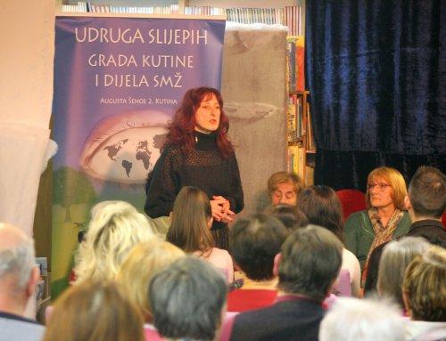 """Predstavljanje knjige Kristine Semenjuk """"Tek molitvu imam"""""""